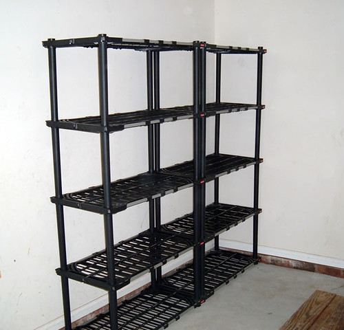 Two New Rubbermaid Steel Reinforced Resin Shelves