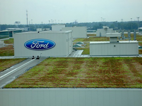 Ford Rouge plant roof | by jrcraft