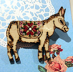 Polico*Donkey Brooch | by lbv5000