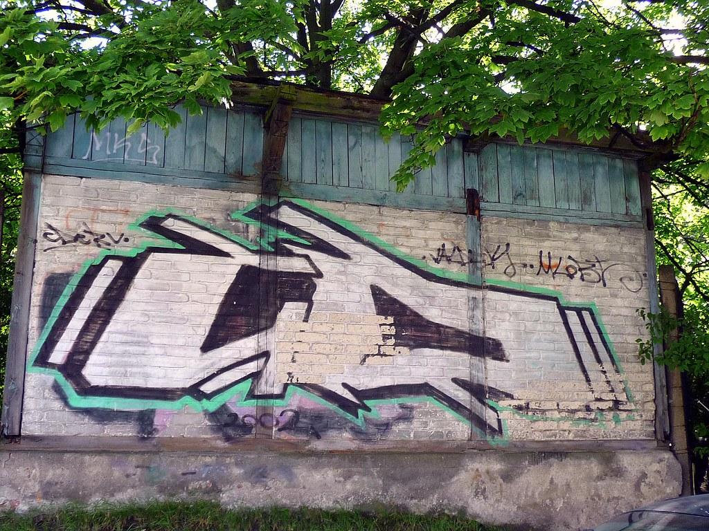 Graffiti Gd Gdynia Gdansk Bart Van Kersavond Flickr