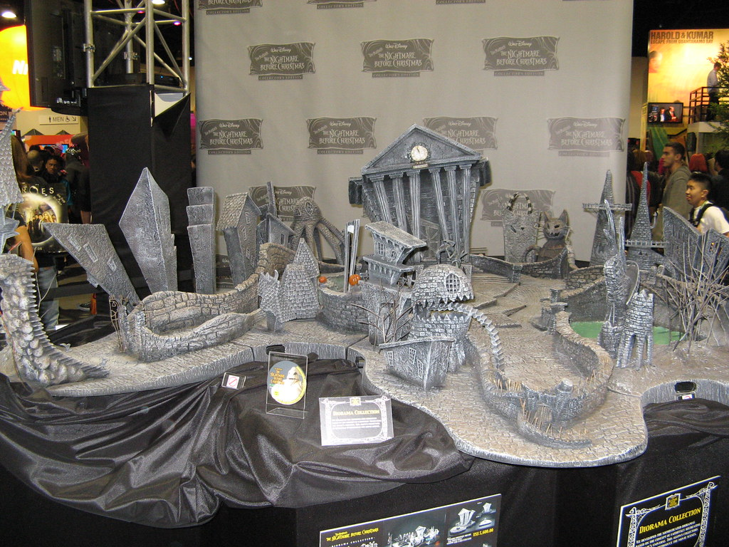 Scale model Nightmare before christmas | i guess its hallowe… | Flickr