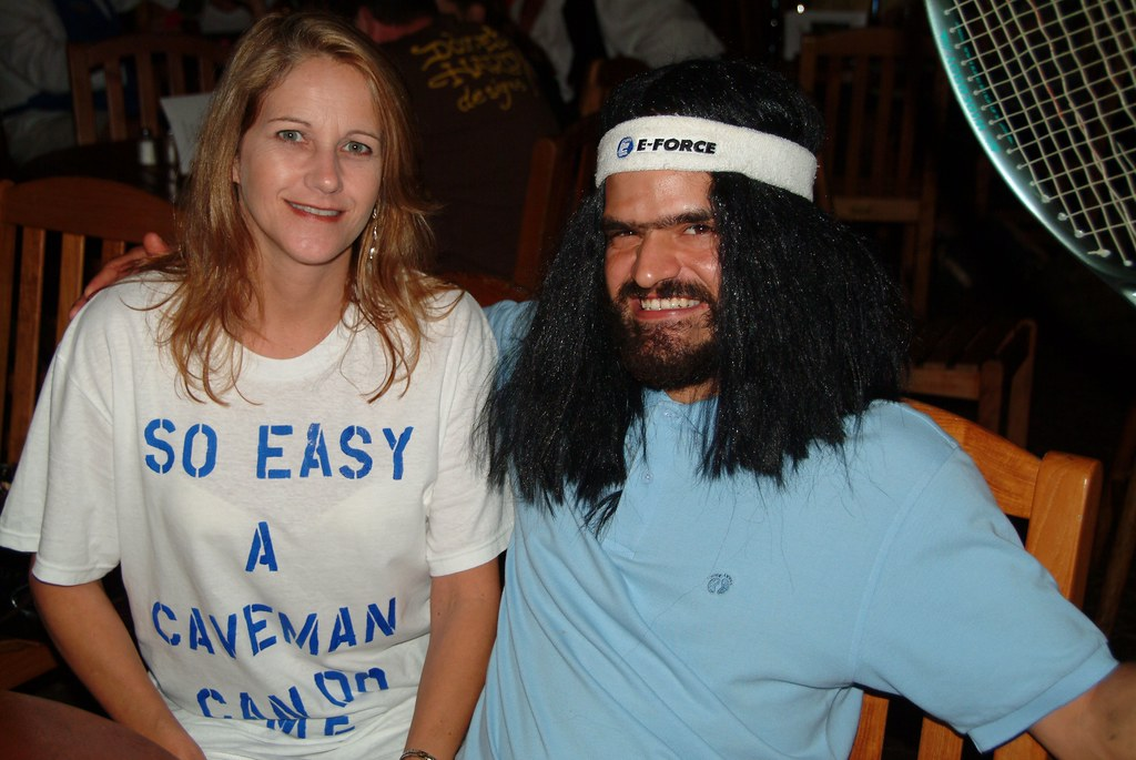 So Easy A Caveman Can Do Me Brian Howell Flickr