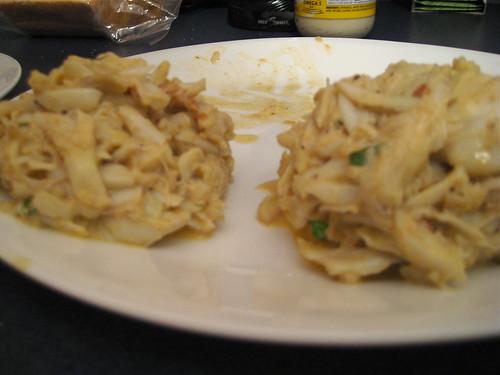 Epicurious Crab Cakes