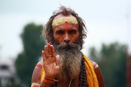 Mauni Baba at Gwari Ghat in Jabalpur, India. [ Explored ] | by Chandravir Singh