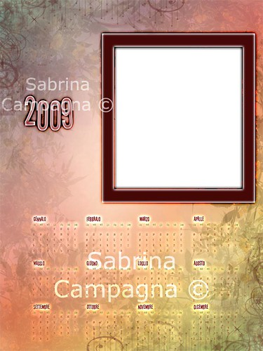 Autumn Photo Calendar Template 2009 | by Sabrina Campagna Live Music Photographer