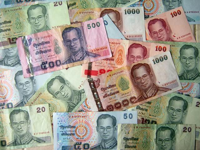 Thai Baht. Image by: Philip Roeland, CC.
