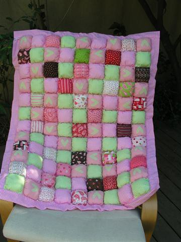 Baby Pillow Quilt I Made This Baby Pillow Quilt As A