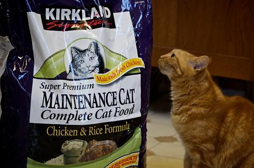 Kirkland Cat Food Bolsa Vino