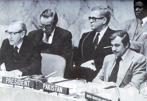 Secretary General Kurt Waldheim addresses the Security Council | by Doc Kazi