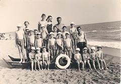 olivetti100 Marina di Massa 1957-58 Olivetti beach