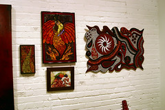 Simply Red Opening Reception | by Contemporary Mosaic Art