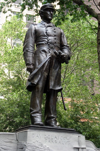 NYC: Madison Square Park - Admiral Farragut Monument | by wallyg