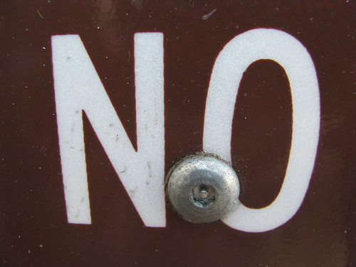 no sign | by TheTruthAbout