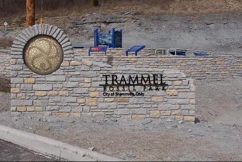 entrance to trammel fossil park trammel fossil park is new flickr