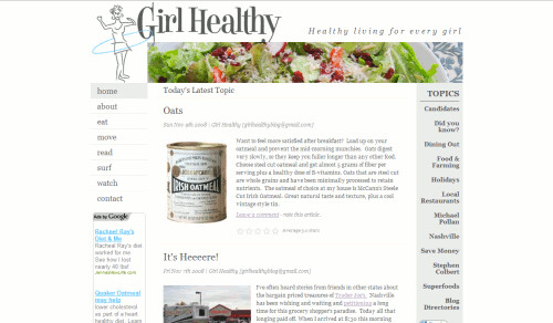 Girl Healthy | by Blogging Women