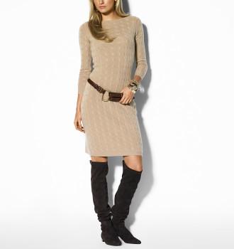 ralph lauren robe pull en cachemire torsades un look abs flickr. Black Bedroom Furniture Sets. Home Design Ideas