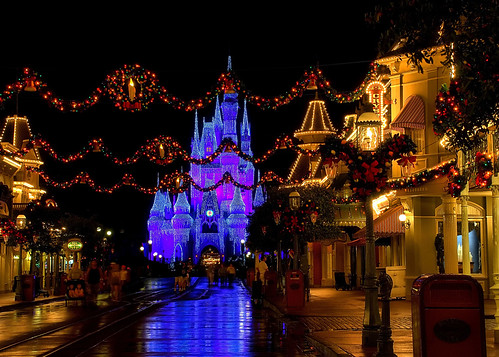 Disney - Christmas on Main Street USA (Explored) | by Express Monorail