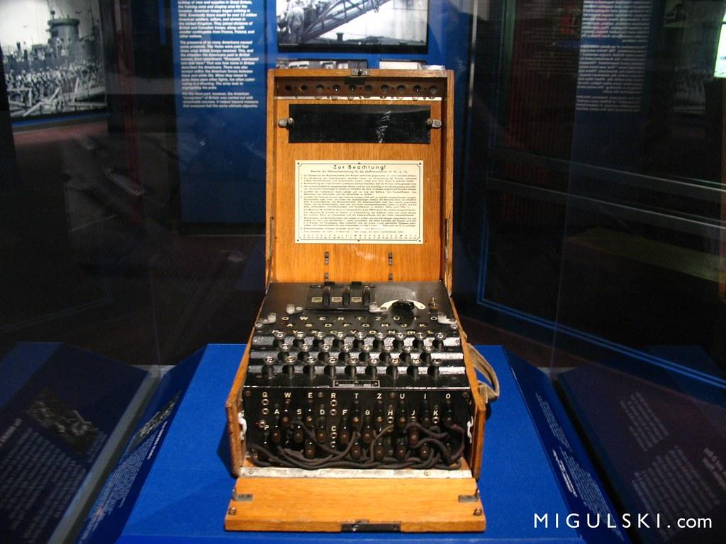 German  Deutsch Enigma Machine World War II Museum New  Flickr - World war ii museums in usa