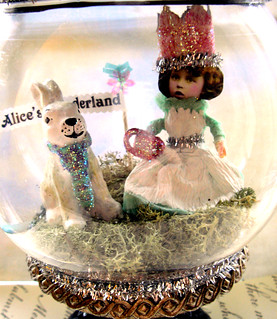 Teatime with Alice and The Rabbit! | by Lisa Kettell