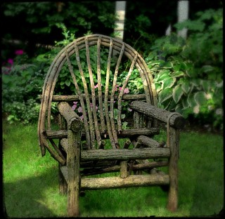 Chair in the Garden | by mbgrigby