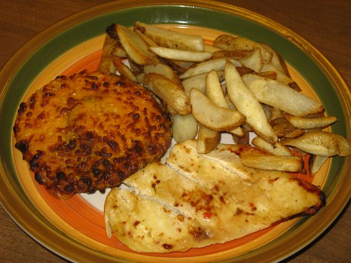 how to make chicken and cheese chips