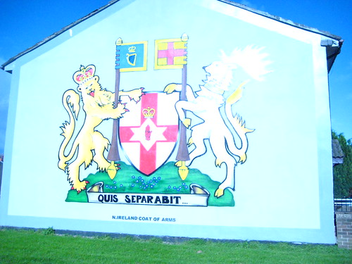 Shankill road protestant mural staunch protestant area for A mural with an area of 18m2