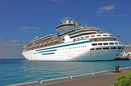 Soverign of the Seas docked in the Bahamas | by thejeffreywscott