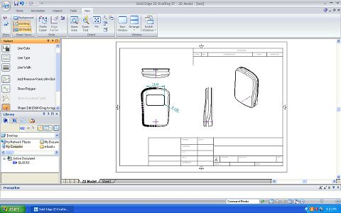 Solidedge2d lightworldman2000 flickr for Simple 3d cad software free