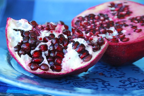 pomegranate | by Food Blogga