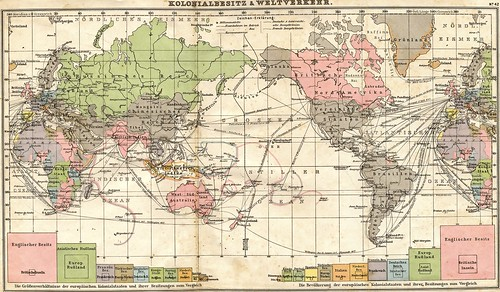 1905 world map in German | by surrealpenguin
