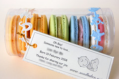 """It's a Boy!"" Macarons 