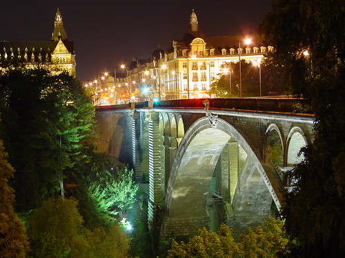 Luxemburg at night | by Daveness_98