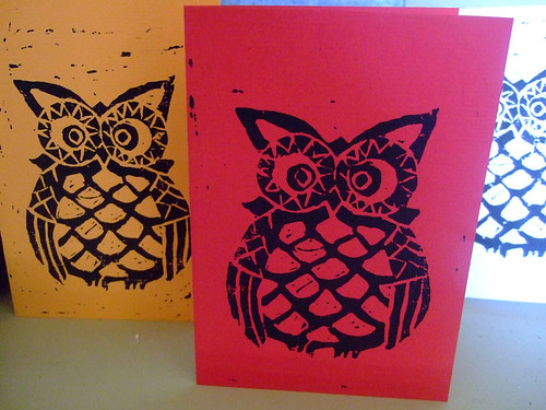 Leeds Owl Cards | by happen-upon