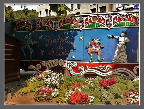 Spa theatre forain fairground theater les baladins du for Baladin du miroir