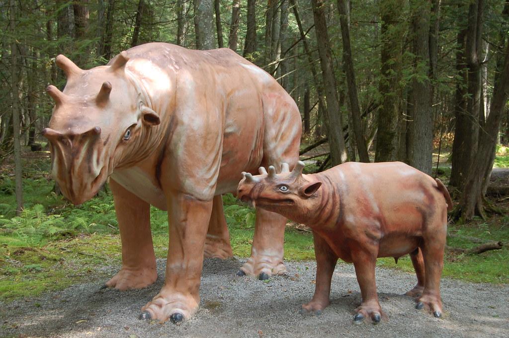 Dinosaur Gardens Ossineke Michigan 75 Ken Flickr