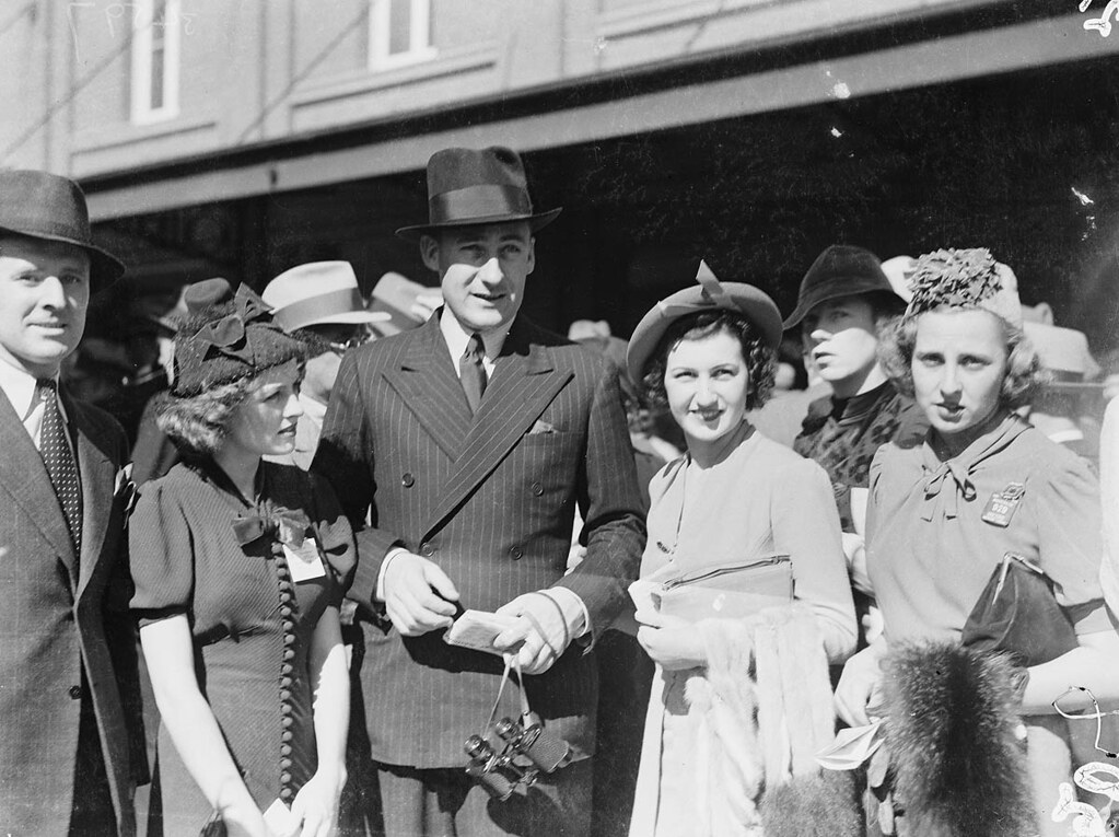 men s and women s fashion sydney cup randwick 1937 m flickr