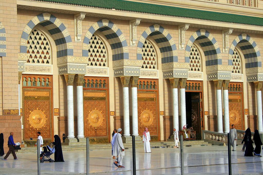 ... Doors of Masjid Al-Nabawi Madina Saudi Arabia | by Shariful Arif & Doors of Masjid Al-Nabawi Madina Saudi Arabia | Shariful Arif | Flickr