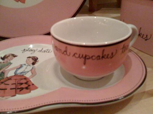 Tea Room Cake Display