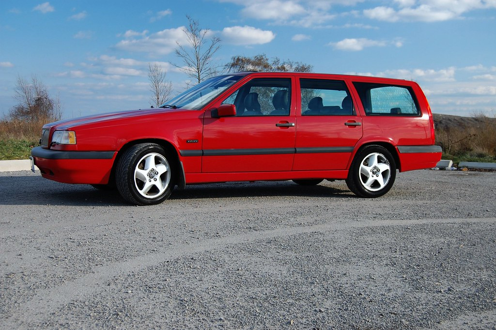 1996 Volvo 850 Turbo Wagon I Just Bought The Car From The Flickr