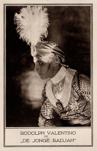 Rudolph Valentino in The Young Rajah (1922)