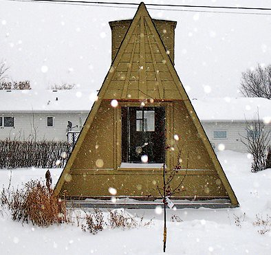 A-Frame Shed | (not my image/property) | Heath Ashli | Flickr