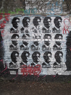 Revolutionary Nick Clegg graffiti | by Helen Duffett