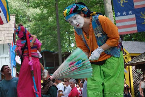 Bending Over  Maryland Renaissance Festival  Amber