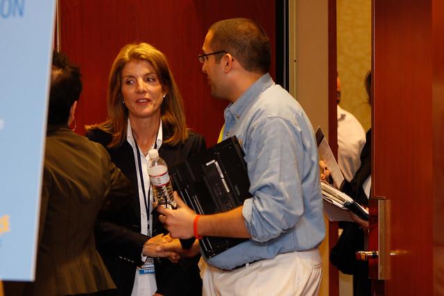 Caroline Kennedy at ServiceNation Summit