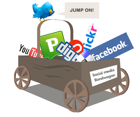 Jump on the social media bandwagon | by Matt Hamm