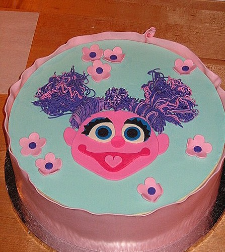 Sesame Street Birthday Cake Pictures