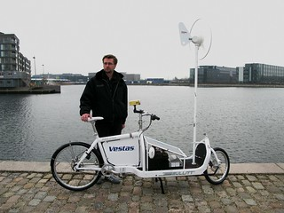 Human Battery - Bullitt with Wind Mill and Solar Panels | by Mikael Colville-Andersen