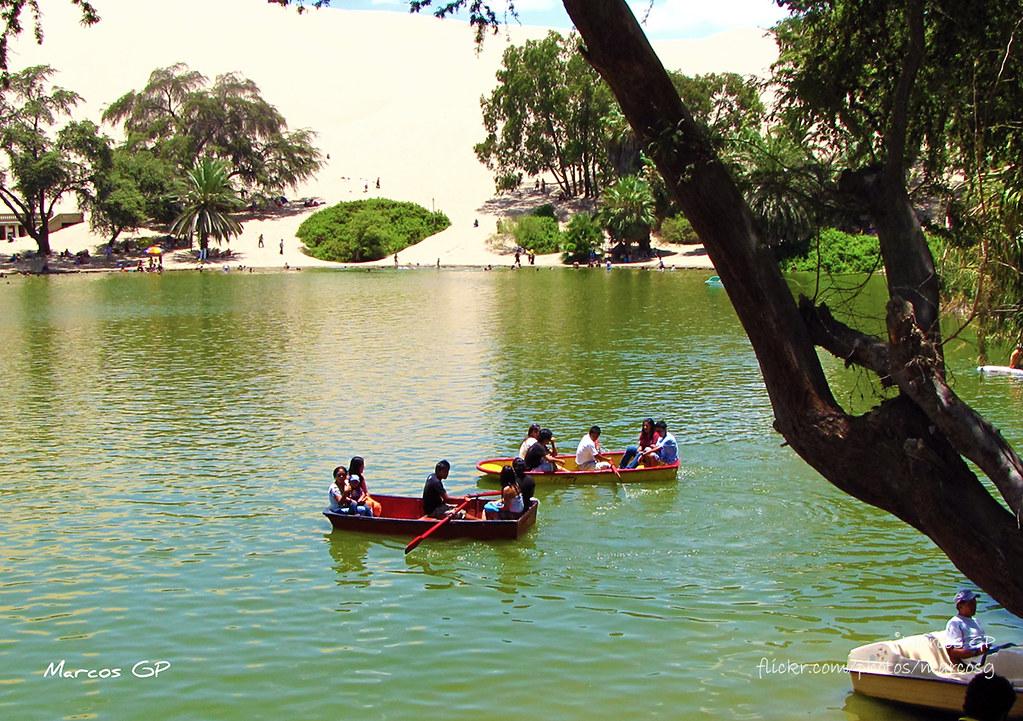 Rescatan laguna La Huacachina: el oasis de Ica | www.radionacional ...