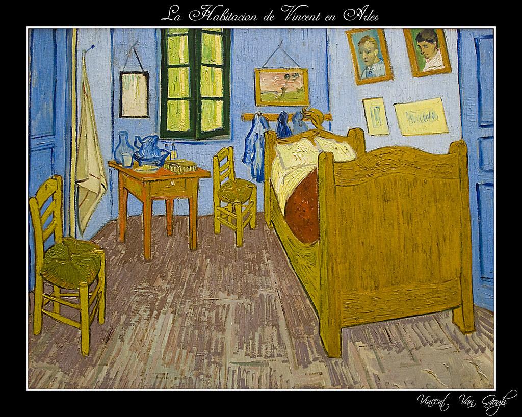 Habitaci N De Van Gogh Esta Es La Alcoba De Vincent Van Go Flickr # Vang Gogh Muebles
