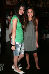 Selena Gomez and Samantha Boscarino | by Proud Nelena Supporter